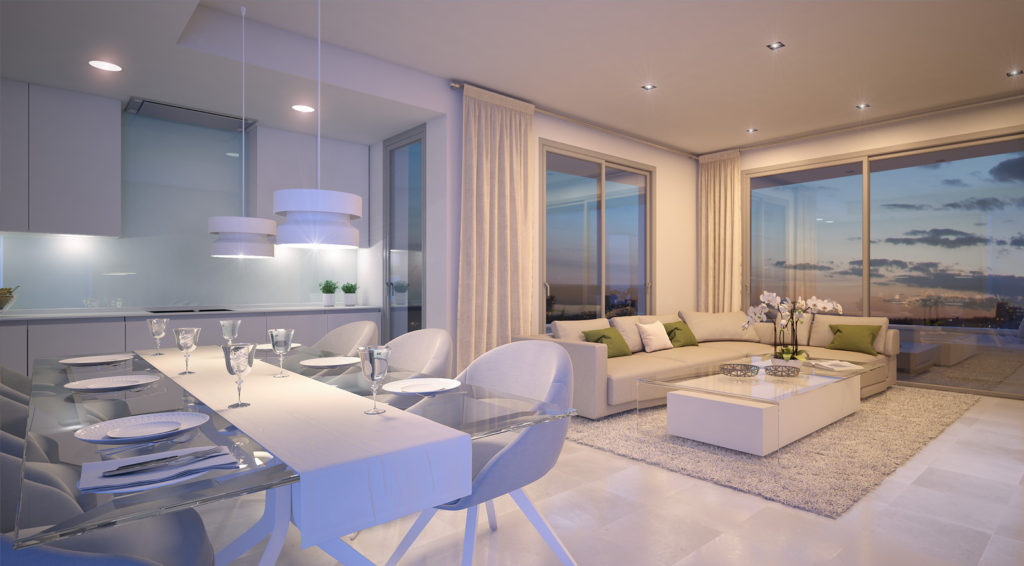 Off plan apartments for sale on New Golden Mile
