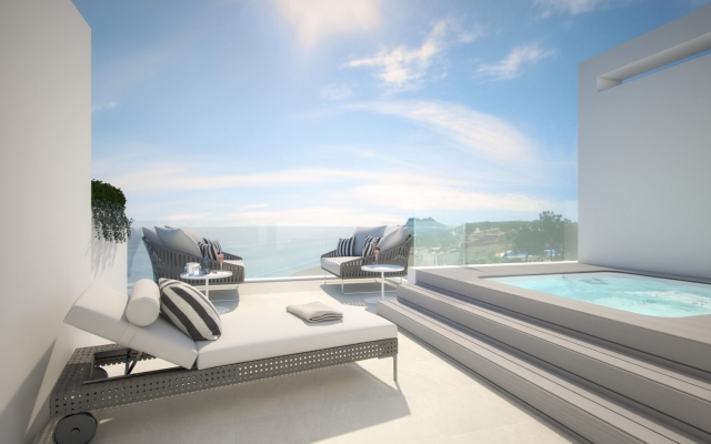 Off-plan townhouses for sale in Estepona