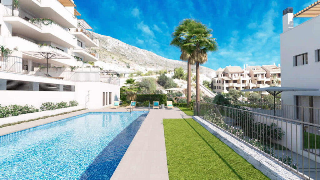 Off plan apartments for sale in Benalmadena