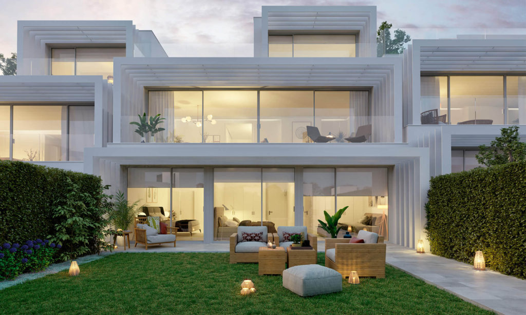 Sotogrande off-plan townhouses for sale in Sotogrande