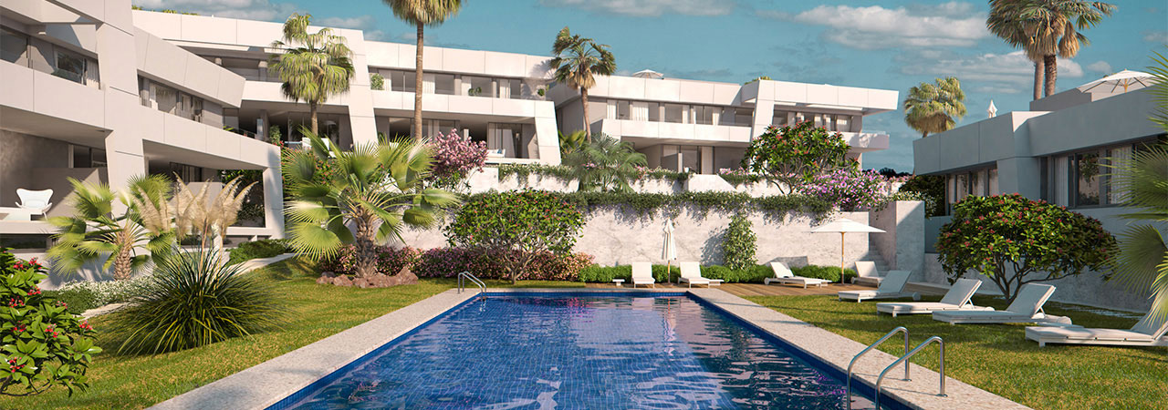 Off-plan townhouses for sale in East Marbella