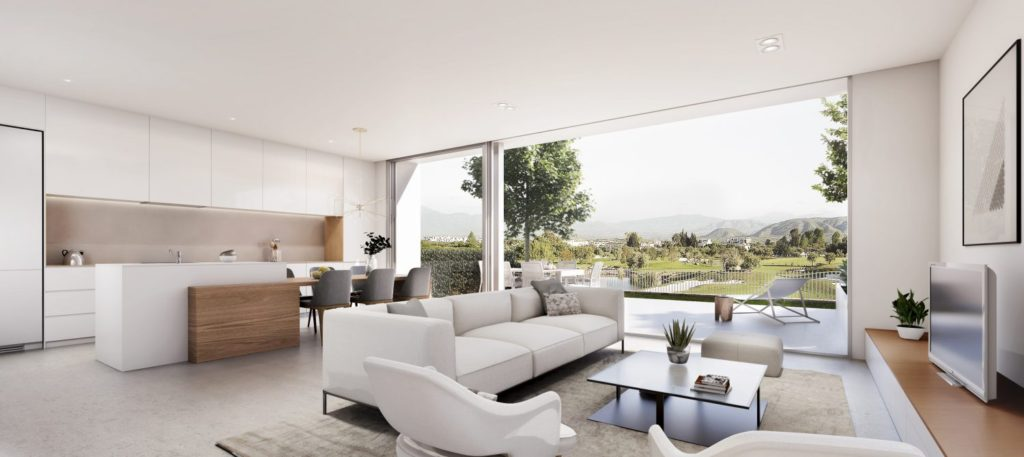 Off-plan townhouses for sale at La Cala, Mijas Costa