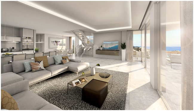 Monte Paraiso new off plan development of apartments and penthouse in Fuengirola
