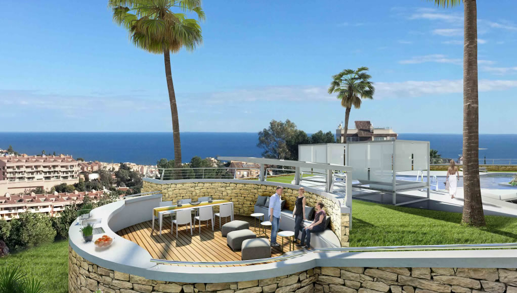 Monte Paraiso new off plan development of penthouses in Fuengirola