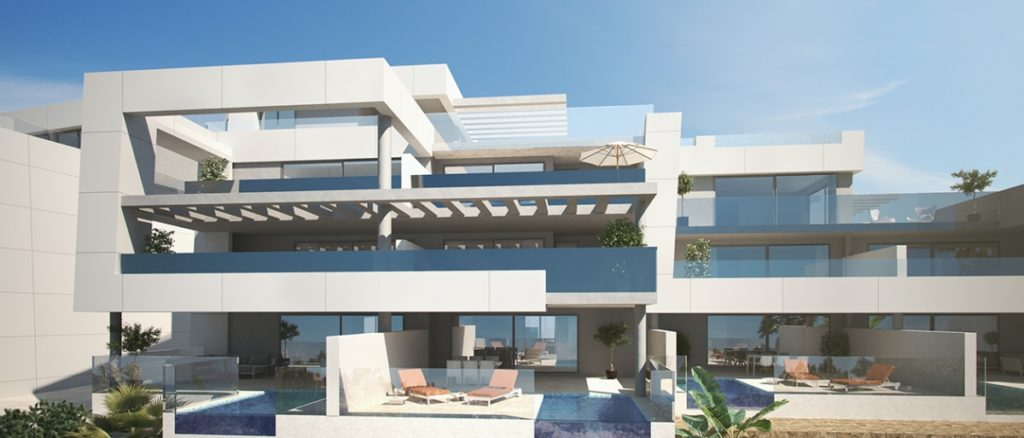 Off plan apartments for sale in Nueva Andalucia
